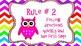Owl Themed Class Rule Set