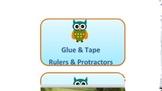 Owl Themed Classroom Bin Labels