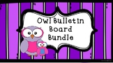 Owl Themed Classroom Bundle