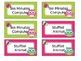 Owl Themed Classroom Management Positive Reward Tickets Editable