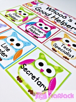 Owl Themed Classroom Materials Pack (EDITABLE Materials, too!)