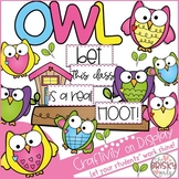 Owl Themed Classroom (Owl Craftivity)