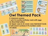 Owl Themed Classroom Pack Discount