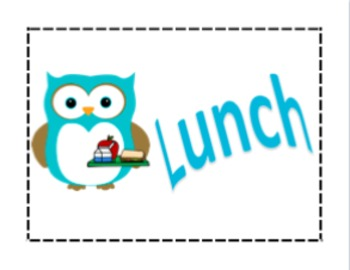 Owl Themed Classroom Signs Bundle
