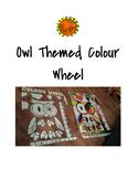 Owl Themed Colour Wheel