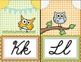 Owl Themed Cursive Banners