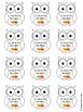 Owl Themed Data Wall for Kindergarten