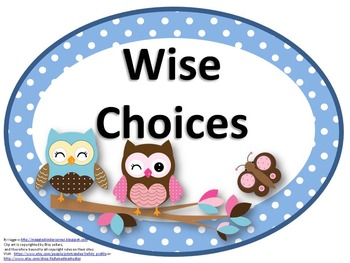 Owl Themed Easy Fit EDITABLE Rules Posters