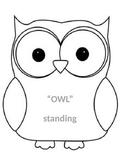 Owl Themed Editable Clip Chart