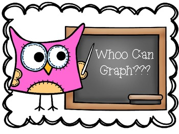 Owl Themed First Day Class Survey and Graph Activity