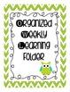 Owl Themed Homework Folder Covers
