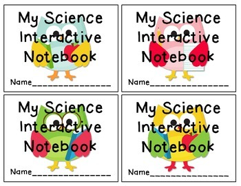 Owl Themed Interactive Notebook Labels