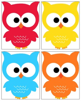 Owl Themed Job Bulletin Board