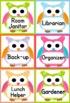 Owl  Themed Job Display