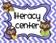 Owl Themed Learning Center Signs