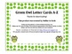 Owl Themed Letters A-Z Green Polka Dots