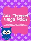 Owl Themed MEGA Pack