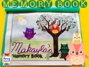 Memory Book Owl Theme
