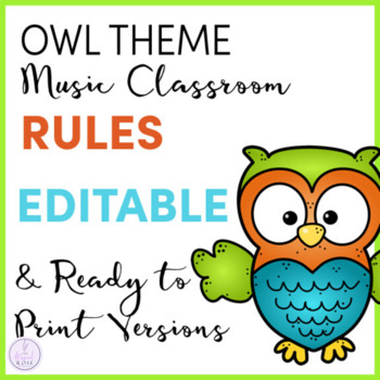 Owl Themed Music Rules