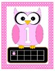 Owl Themed Number Posters with Ten Frame