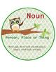 Owl Themed Parts of Speech