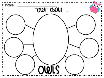 Owl Themed Parts of Speech Poster Set and Activities