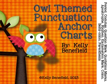 Owl Themed Punctuation Posters
