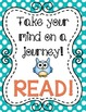 """""""Owl"""" Themed Reading Motivational Posters"""