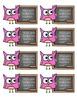 Owl Themed Reward Cards