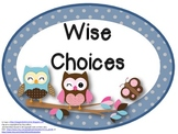 Owl Themed Rules Posters with Teacher Laura Kids