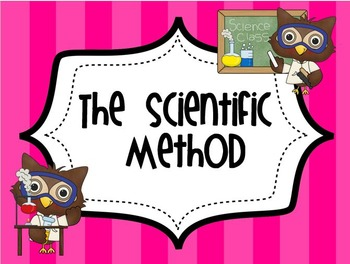 Owl Themed Science Processing Skills Posters