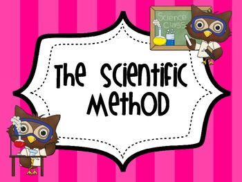 Owl Themed Scientific Method Posters