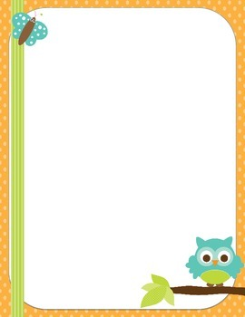 Owl Themed Stationery