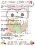 """Owl Themed """"Tell Me About Your Child"""" Form for Back-to-School Night!"""