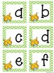 Owl Themed Uppercase & Lowercase Letters Cards PLUS Number