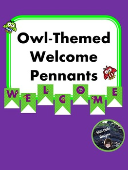Welcome Pennant for Back-To-School