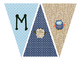 Owl Themed Welcome Pennant Banner