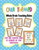 Owl Themed Whole Brain Teaching Rules!