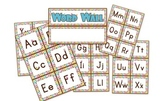 Owl Themed Word Wall Labels