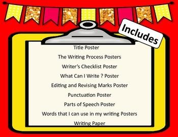Owl Themed Writing Center Starter Kit