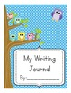 Owl Themed Writing Journal Covers