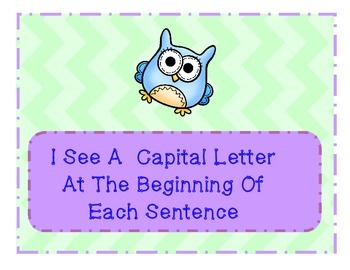 Owl Themed Writing Posters
