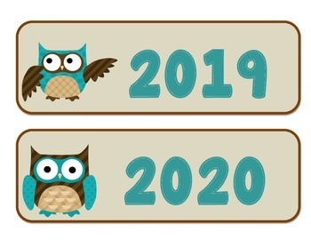 Owl Themed Years