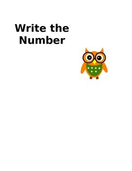 Owl Themed math posters