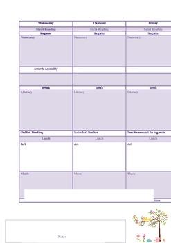 Owl Timetable