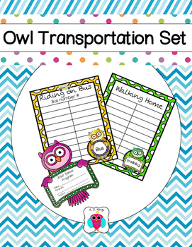 Owl Transportation Pack
