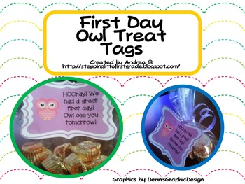Owl Treat Tags