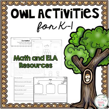 Owl Activities for K-1