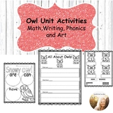 Owl Unit Activities