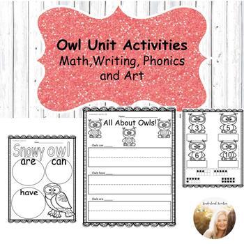 Owl Unit Activities